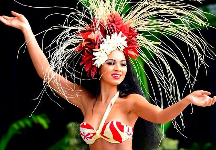 pasos de danza hawaiana